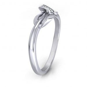 Infinity Fancy Ring - side view