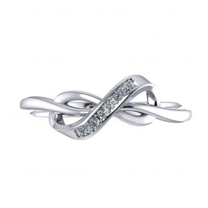 Infinity Fancy Ring - top view