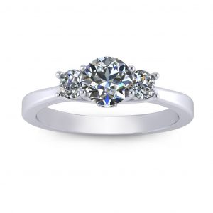 Laura Engagement Ring - white gold