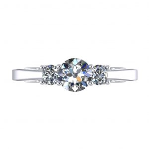 Laura Engagement Ring - top view
