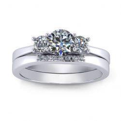 Laara Bridal Set - white gold