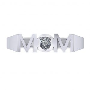 MOM Ring - top view