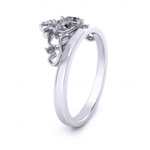 Princess Promise Ring - side view