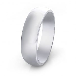 Wedding band - side view