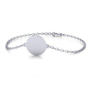 Disc Bracelet Engravable