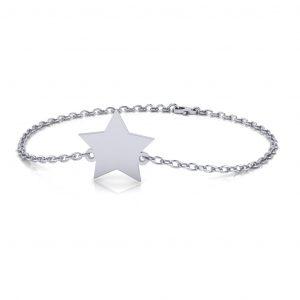 Star Bracelet Engravable