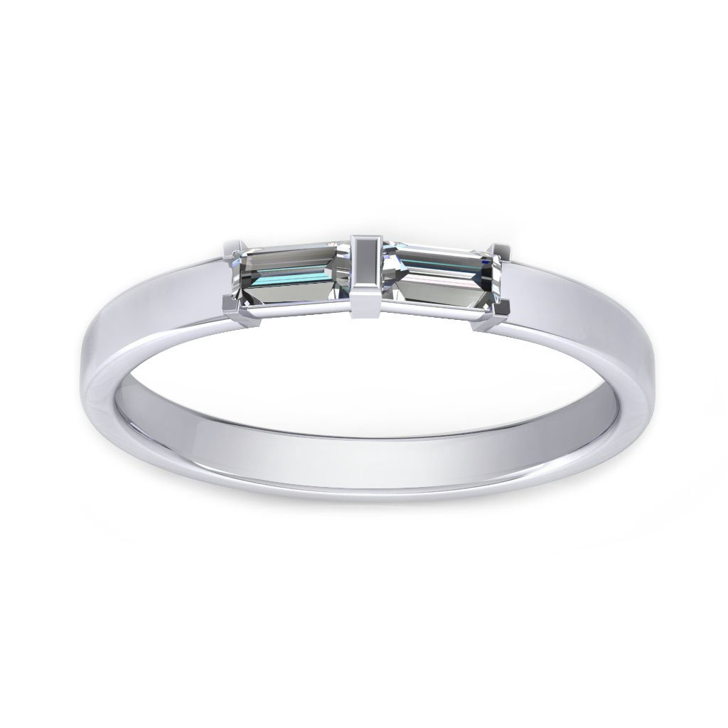 Baguette Promise Ring