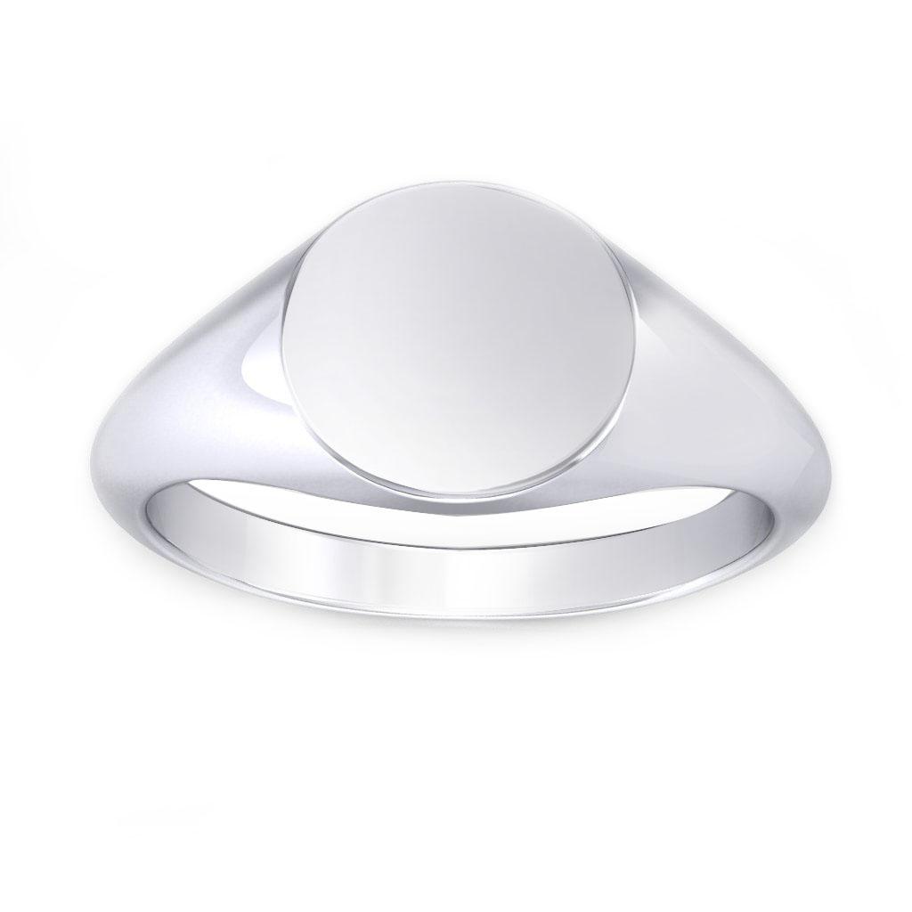 Round Shaped Signet Ring