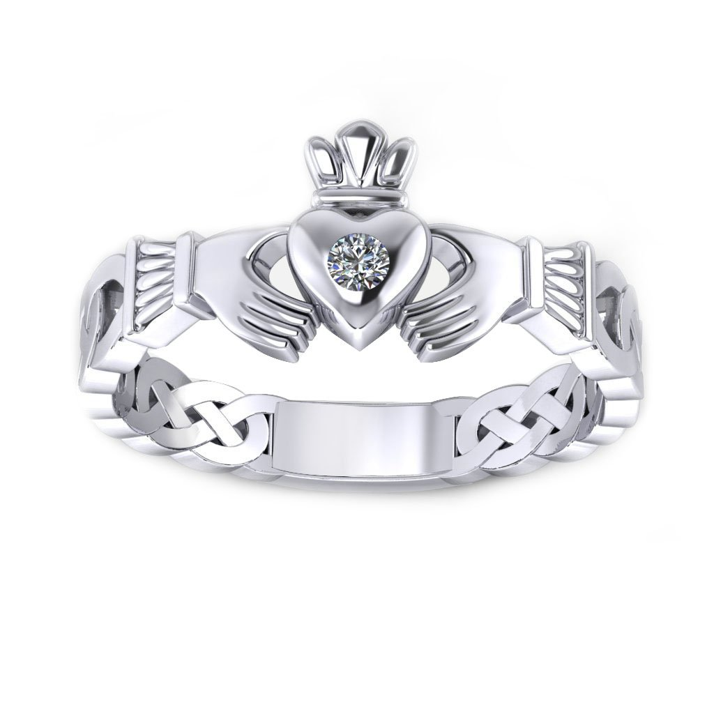 Claddagh Promise Ring