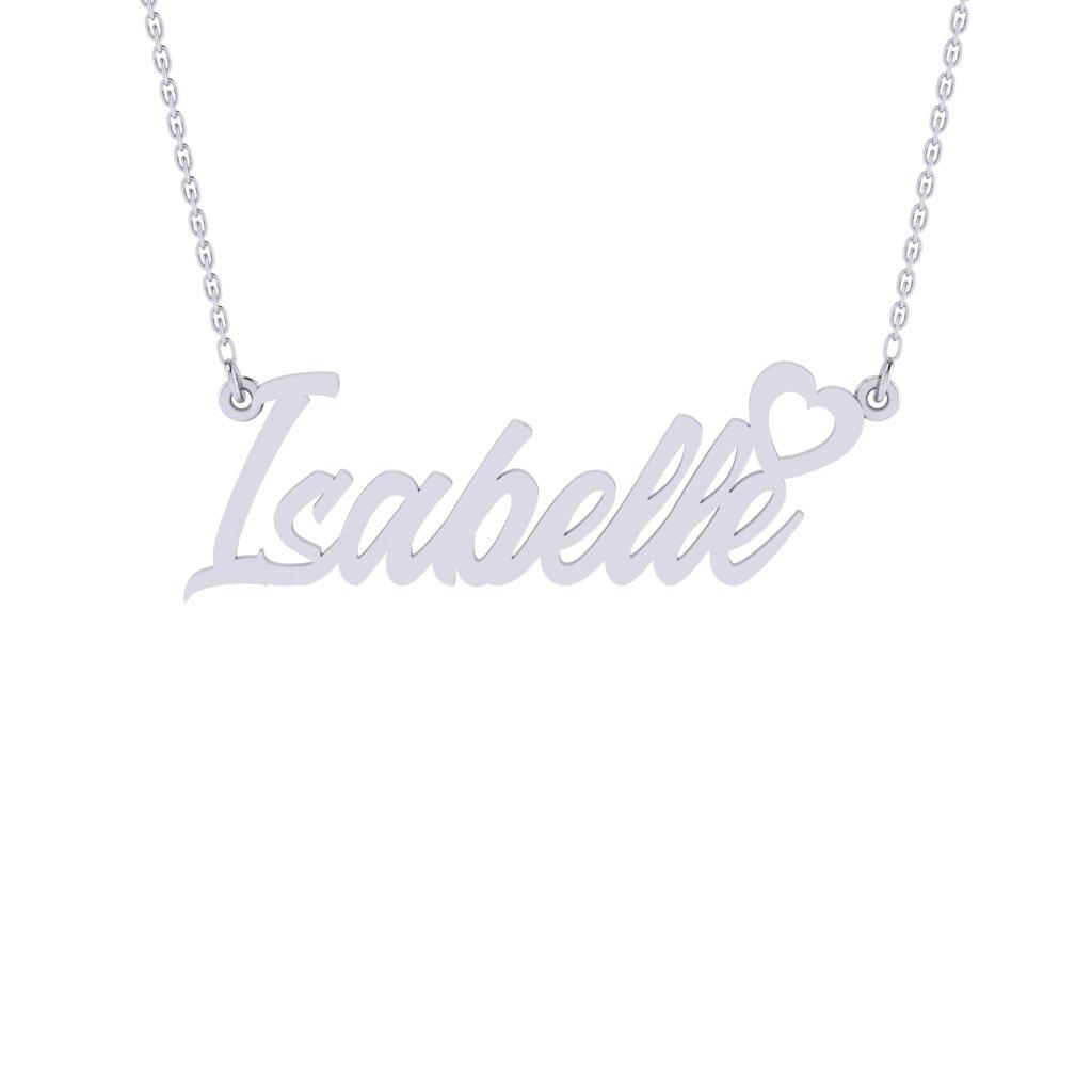 Heart Love Namenecklace