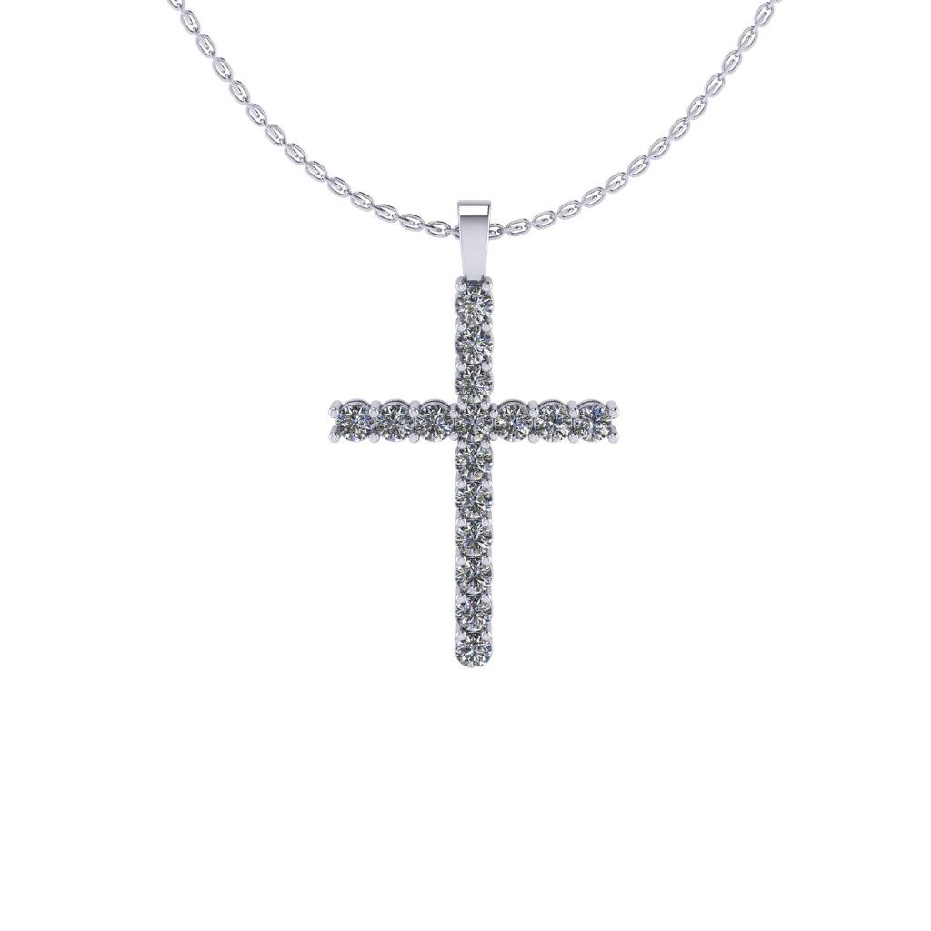 Fancy Cross Personalized Pendant