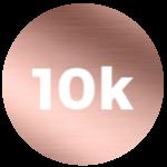 10K Rose Gold