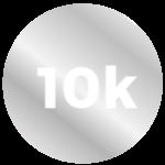 10K White Gold
